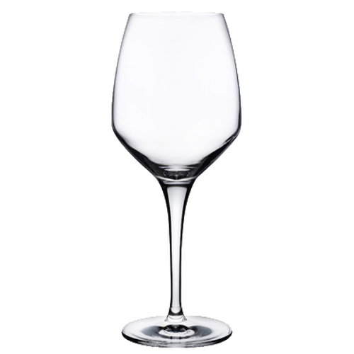 "Nude Fame Wine Glass, 17-1/2 oz., 9""H, 2-3/4""T, lead-free crystal (12 each per case)"