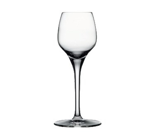 "Nude Fame Cordial Glass, 3-1/4 oz., 6-1/4""H (1-3/4"" T; 2-3/4"" B), lead-free crystal (24 each per case)"