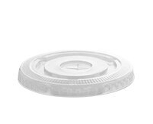 78mm/8/9T/10oz PETE Cold Cup Lid w/Slot (1M/CS)