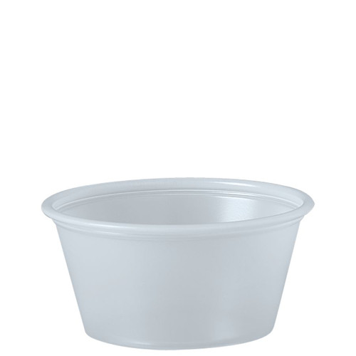 2oz Solo® Soufflés Plastic Portion Containers (2500/cs)