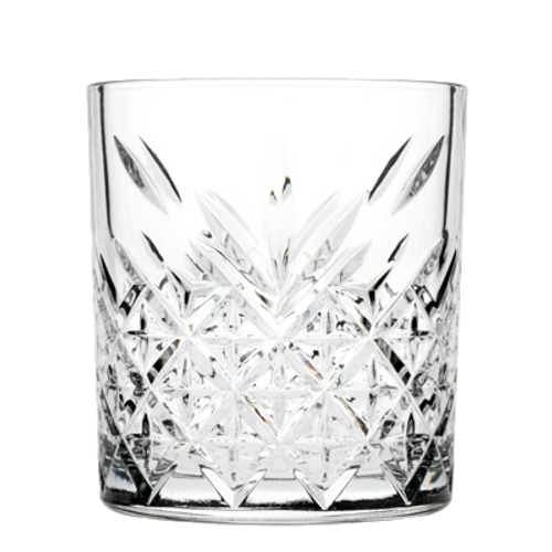 "Pasabahce Timeless Rocks Glass, 11-1/2 oz., 3-3/4""H (3-1/4""T; 3""B), glass, clear (12 each per case)"