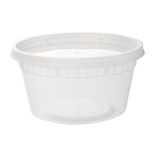 Combo 12oz Heavy Deli Container w/Lid (240/cs)