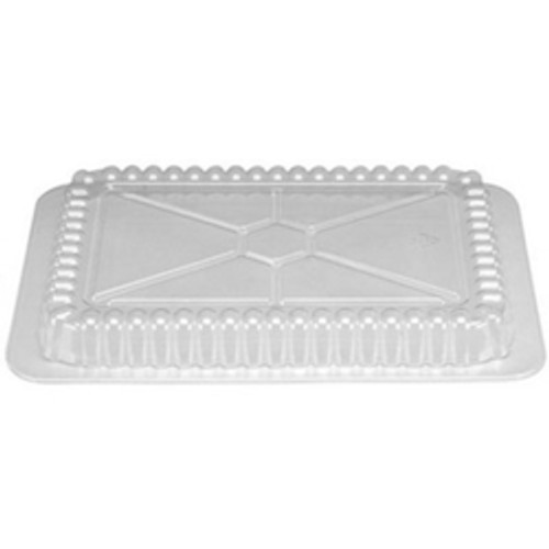 2/2-1/4lb Clear Plastic Oblong Dome Lid Only (500/cs)
