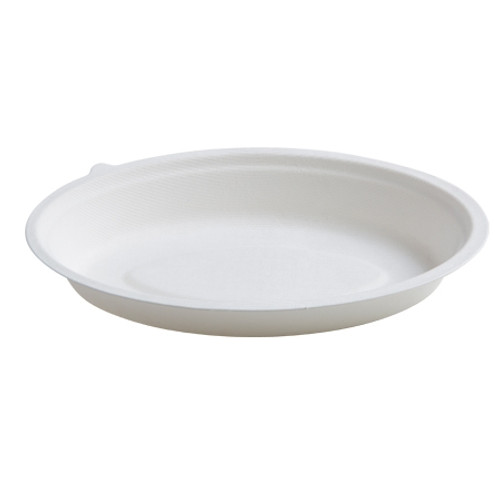 "Conserveware Bowl 9.5""x6"" 24oz  WHITE OVAL BOWL (250/CS)"
