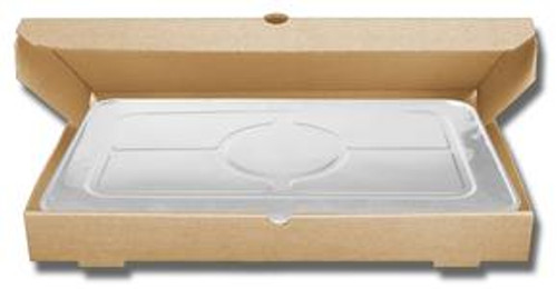 Regular/1 Full Pan B-Flute Catering Box - KRAFT (50/BDL)