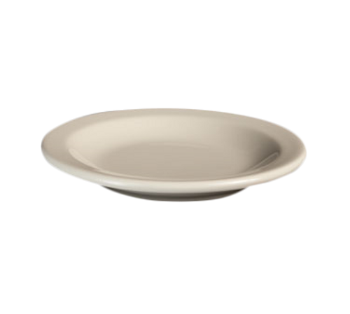 "Plate, 5-1/2"", round, narrow rim, Homer, Undecorated, Made in USA (3dz/cs)"