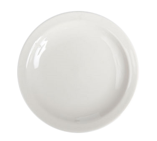 "Plate, 7-1/4"", round, narrow rim, Homer, Undecorated, Made in USA (3dz/cs)"