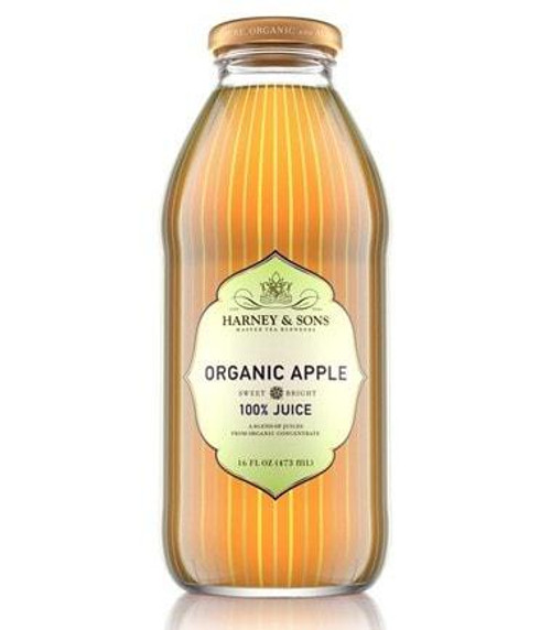 Harney & Sons Organic Apple Juice (12/16oz)