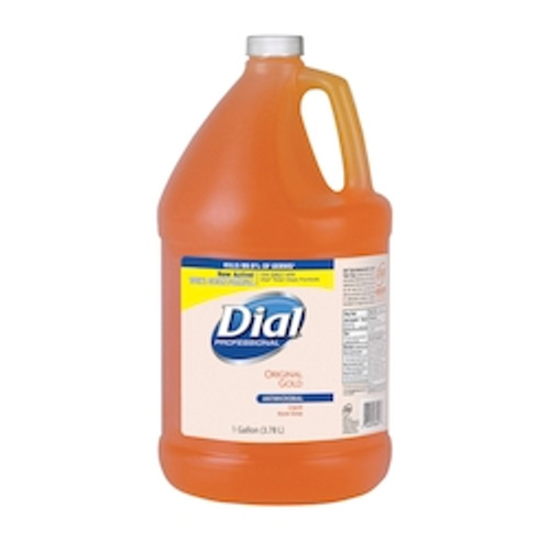 Dial® Gold Liquid Antimicrobial Soap (4/1 Gal)