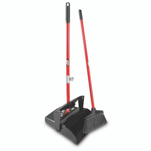 Liman Commercial Lobby Dust Pan & Broom, dust pan (1-set)