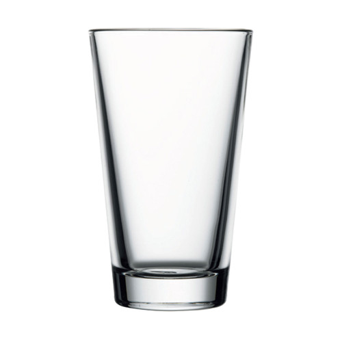 "Pasabahce Mixing Glass, 14 oz., 5-3/4""H (3-1/2""T; 2-1/2""B), rim tempered, glass, clear (previously 1054678) (24 each per case)"