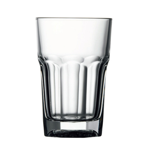 Pasabahce Casablanca Hi-Ball Glass, 9-1/2 oz., (15236), fully tempered, glass, clear (36 each per case)