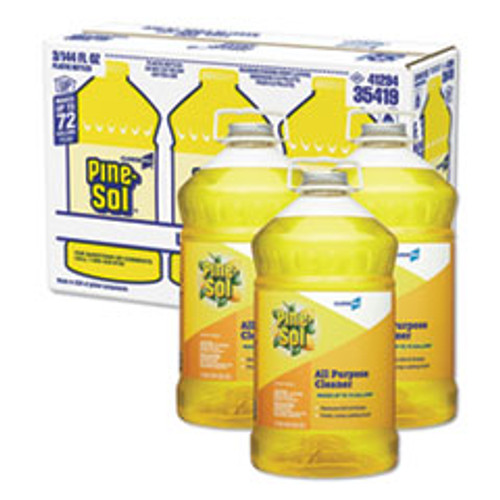 Pine-Sol® Lemon Scented All Purpose Cleaner (3/144oz)