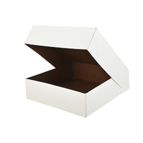 "15"" x 12"" x 2 1/4"" White Auto-Popup Donut / Bakery Box (100/bdl)"
