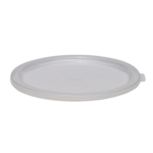 Cover, for 6 & 8 qt. storage containers, translucent, polypropylene, NSF
