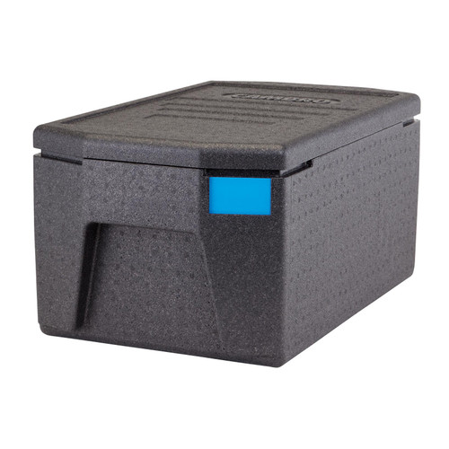 """Cam GoBox® Insulated Food Pan Carrier, 48.6 qt., top load, holds (1) GN 1/1 or (2) GN 1/2 sized food pans up to 8"""" deep"""