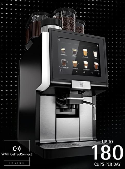 WMF 1500S+ 3-Hopper Super Automatic Espresso Machine