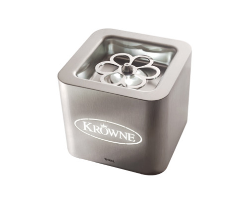 Krowne Royal Series Countertop Cube Liquid CO2 Glass Froster, sanitizes, deodorizes & frosts, built-in LED light (1 each)