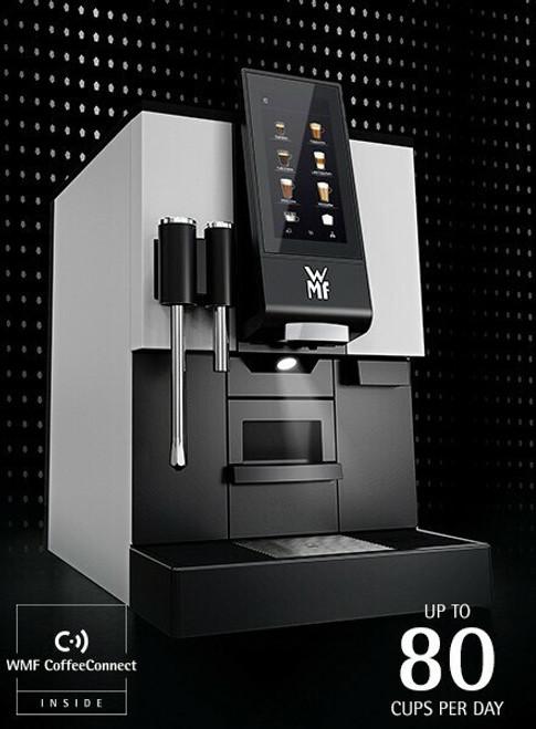 WMF 1100S 2-Hopper/Grinder Super Automatic Espresso Machine (WITH STEAM WAND)
