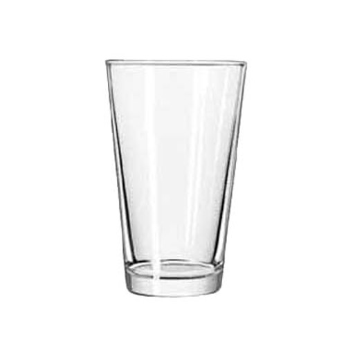 "Mixing Glass, 16 oz., DuraTuff®, Restaurant Basics®, glass, clear (H 5-7/8""; T 3-1/2""; B 2-3/8""; D 3-1/2"") (24 each per case)"