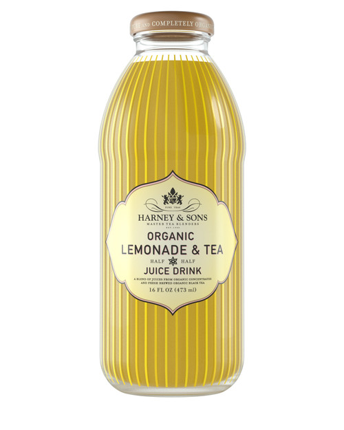 Harney & Sons Organic Lemonade & Tea Juice Drink (12/16oz)