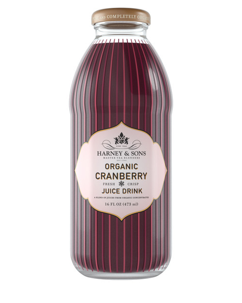 Harney & Sons Organic Cranberry Juice Drink (12/16oz)