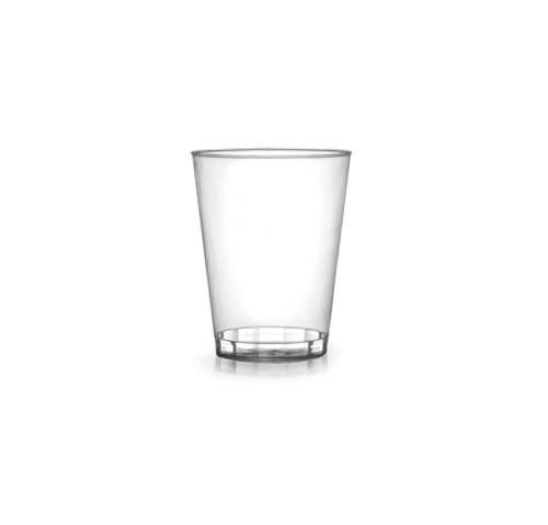 1oz Clear Plastic Shot Glass (1M/CS)