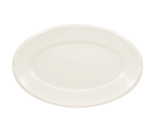 "Anna Platter, 8-1/2"", oval, oven, microwave, and dishwasher safe, shock resistant, and abrasion proof (12/cs)"