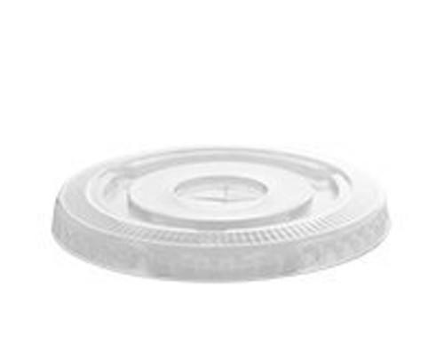 Karat®  98mm/16/20/24oz PET Cold Cup Lid w/Slot (1M/CS)