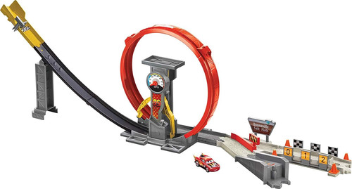 Disney Pixar CARS XRS Rocket Racing Super Loop Playset