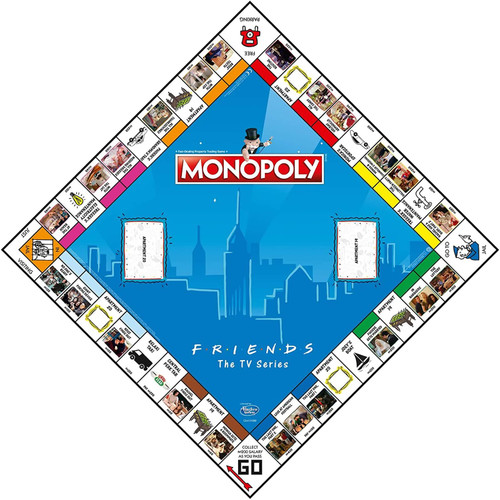 Monopoly Friends The TV Series Edition