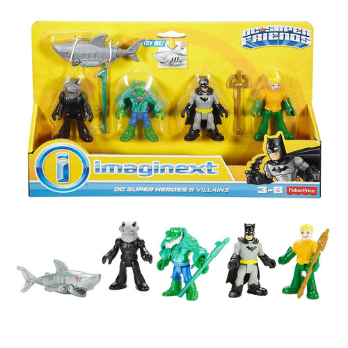 Fisher Price Imaginext Super Heroes & Villains Batman Figure Pack