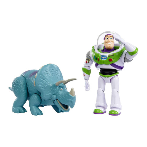 Disney Pixar Toy Story Buzz Lightyear & Trixie Figure Set