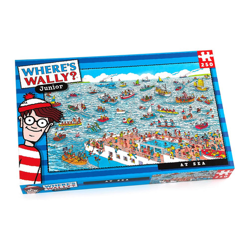 "Where's Wally Junior ""At Sea"" Jigsaw Puzzle"