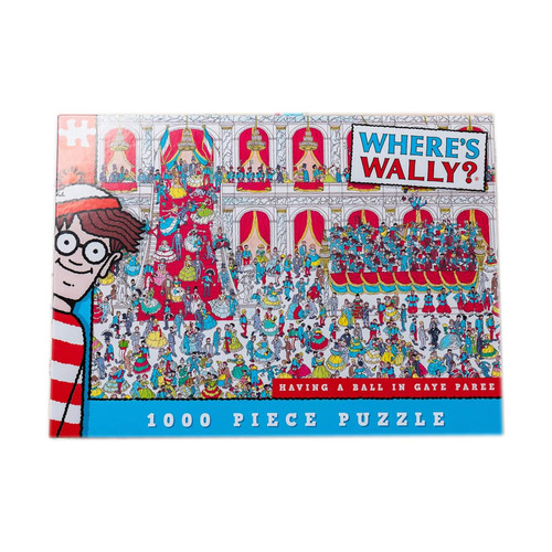 Where's Wally Having A Ball In Gaye Paree Jigsaw Puzzle