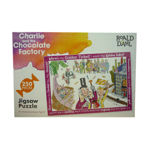 Roald Dahl Charlie & The Chocolate Factory 250 pc Jigsaw Puzzle