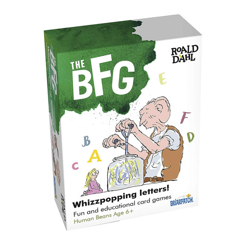 The BFG Whizzpopping Letters Spelling Card Game