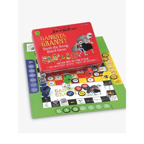 Gangsta Granny Stash The Swag Board Game from The World of David Walliams