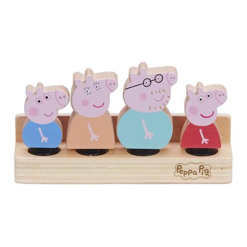 Peppa Pig Wooden Family Figures
