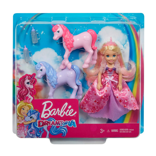 Barbie Dreamtopia Princess Doll & Unicorns Set
