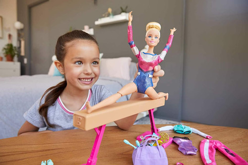 Barbie Gymnastis Play Set You Can Be Anything Gymnast