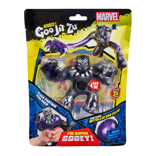Marvel Heroes Of Goo Jit Zu BLACK PANTHER Hero Pack