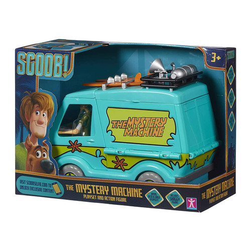 Scooby Doo The Mystery Machine Playset & Action Figure