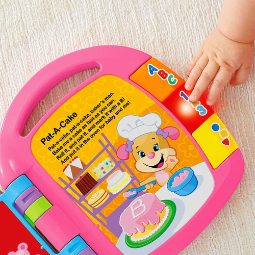 Fisher Price Laugh & Learn Story Book Rhymes