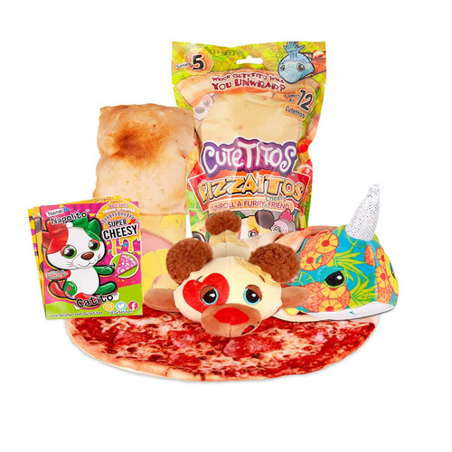 Cutetitos Pizzaitos Pizza with a Furry Friend Series 5