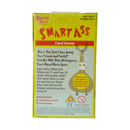 Mini Smart Ass Travel Card Game