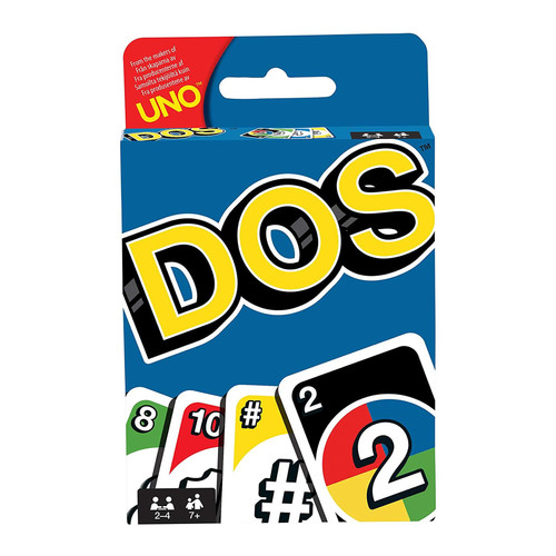 Mattel Dos Card Game