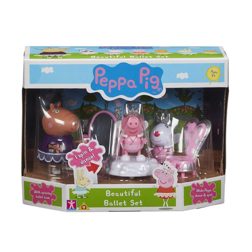 Peppa Pig Beautiful Ballet Set