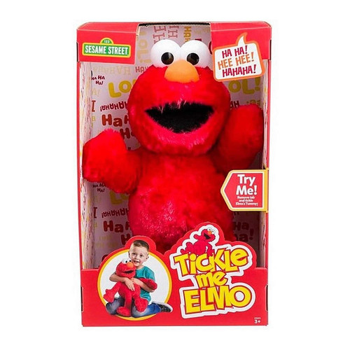 Tickle Me Elmo Sesame Street Soft Toy