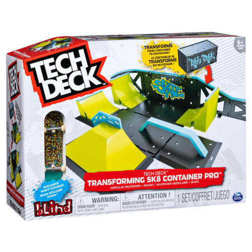 Tech Deck Transforming SK8 Container Pro 60335884